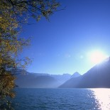 Sonnenschein am Achensee