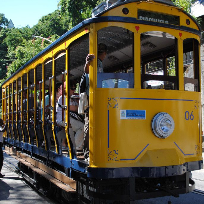Rio de Janeiro Bonde Bahn Santa Teresa, Bild: Sandra Mueller-Hofner Trips4kids.de