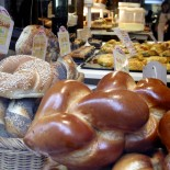 Paris mit dem Fahrrad - jüdische Bäckerei im Marais