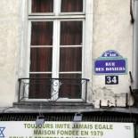 Paris mit dem Fahrrad - Straße im Marais