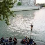 Paris mit dem Fahrrad - Picknick an der Seine