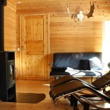 Ferienhaus Lappland - Saunabereich