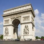 Paris mit dem Fahrrad - Arc de triomphe