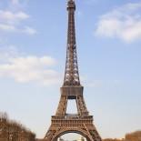 Paris mit dem Fahrrad - Eiffelturm