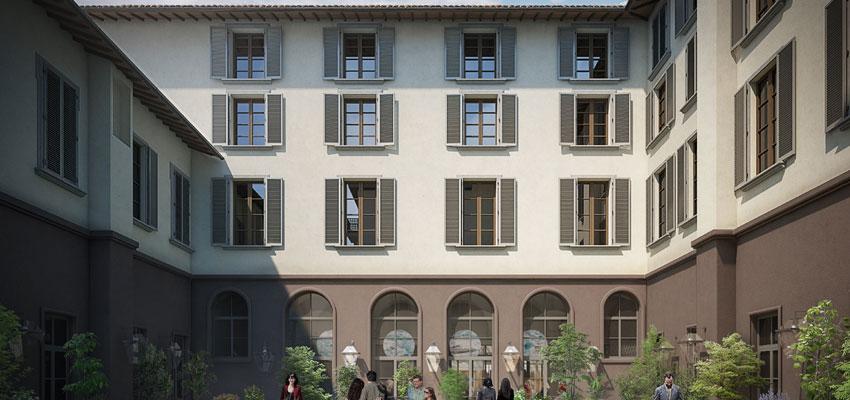 25 Hours Hotel Florenz - Gesamtansicht