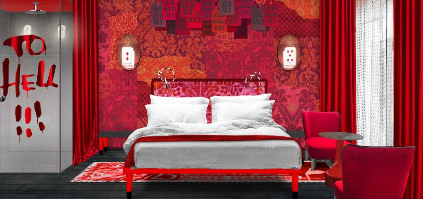 25 Hours Hotel Florenz - Inferno Room