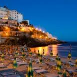 Costa di Kair ed Din: Sperlonga Abend am Meer und Strand; Bild: Interchalet