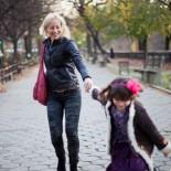 Elizabeth Street Mutter mit Tochter