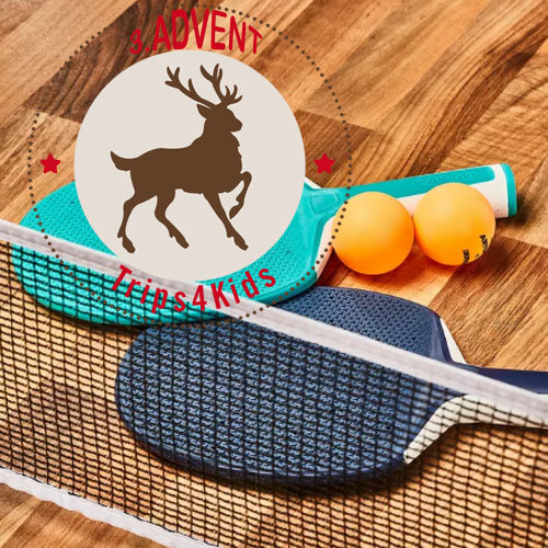 Ping-Pong Set, Adventsverlosung @ Foto: Decathlon