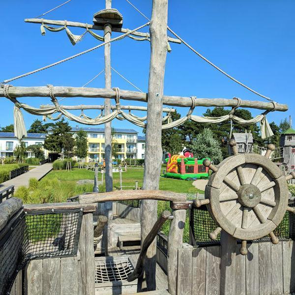 Usedom Piraten-Insel-Spielplatz-Trassenheide © Foto: Thomas Weiß