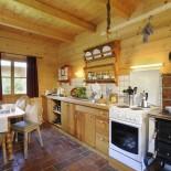 Gemütliche Küche im Chalet