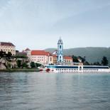 A-Rosa Flusskreuzfahrt: Donauroute mit A-Rosa Donna/Duernstein; Bild: A-Rosa