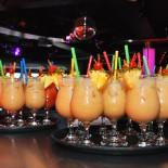 AIDA Fussball-Camp: Kinder-Cocktails auf der Abschluss-Party in der Anytime Bar; Bild: AIDA Pressestelle
