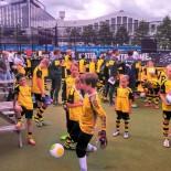 AIDA Fussball-Camp: Training im Londoner Wembley-Stadion; Bild: AIDA Sven Ehricht