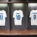 AIDA Fussball-Camp: London Wembley-Stadion, Kabine der englischen Nationalmannschaft; Bild_AIDA_Sven_Ehricht