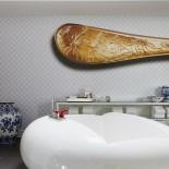 Andaz Hotel Prinsengracht: Suite Bathroom; Bild: PR Andaz Amsterdam