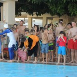 Club Aldiana Tunesien: Kids am Pool; Bild: Adrienne Friedlaender
