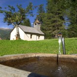 Sporthotel Bad Moos - Kirche am Wegesrand