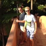 Bahia Kempinski Hotel: Sven & Ben am Pool; Bild: Sandra Müller-Hofner