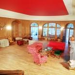 Jagdschloss Bellin roter Salon