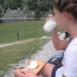 Wandern Berchtesgaden - kleine Brotzeit
