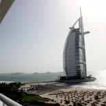 Blick vom Balkon des Jumeirah Beach Hotels Foto: Trips4Kids.de