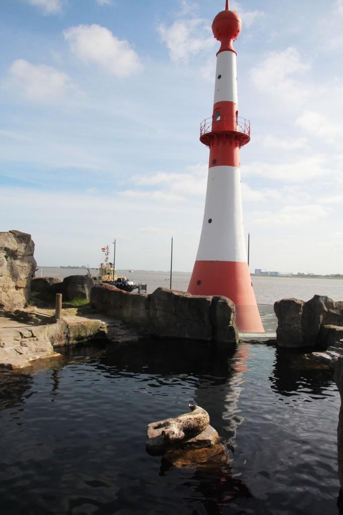 Bremerhaven Leuchtturm Bild: Adrienne Friedlaender
