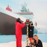 Bremerhaven: kl.Polarforscher im Schiffahrtsmuseum; Bild: A.Friedlaender