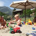 Cavallino Bianco, Sand-Spielplatz