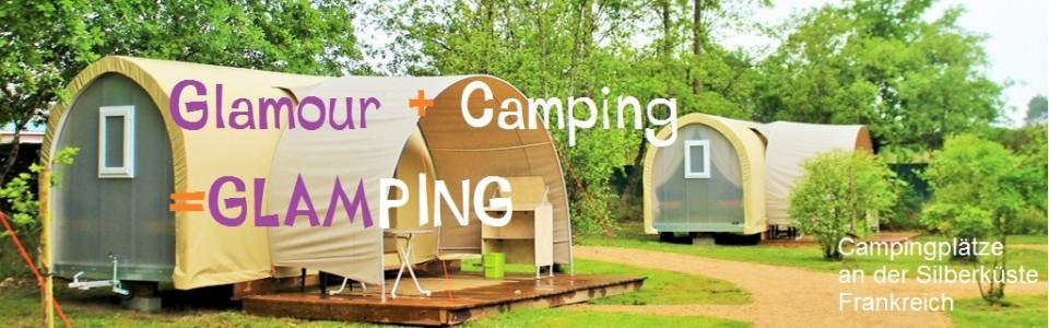 Camping an der Silberküste, Frankreich