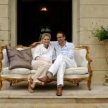 Chateau Mcely - Das Eigentümer-Ehepaar Cusomano