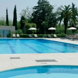 Hotel Crowne Plaza Rome - Außenansicht mit Pool