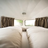 Camper Hotel Daniel - Doppelbett mit Aussicht