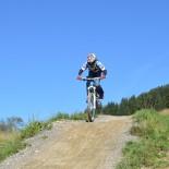 Biken über Stock und Stein