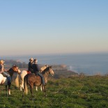 El Capitan Canyon - Pferdeaustritt mit Blick auf den Ozean Foto: PR El Capitan Canyon