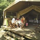 Eurocamp - Safarizelt Ansicht innen