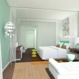 Zimmer im neuen Falkensteiner Hotel & Spa Jesolo