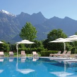 Grand Resort Bad Ragaz Außenpool