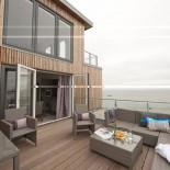 Hotel Strand Sylt - Terrasse