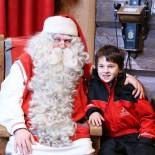 Kuscheln mit Santa