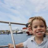 Kind an Bord