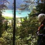 Karibik-Feeling: Blick zum Achensee