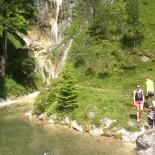 Rast am Wasserfall Achensee