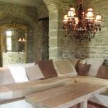 Ein Wohnzimmer im Chateau Villarlong