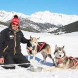 Clori Alves Correia und seine Schlittenhunde