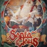 Schild Santa Claus
