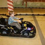 Paul fährt Mini-Kart