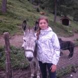 Hotel Cristallo/Katschberg: Clara mit Esel; Bild: Antoinette Schmelter de Escobar