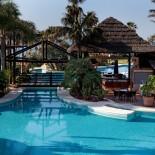 Bahia Kempinski Hotel: Poolbar; Bild: PR Kempinski