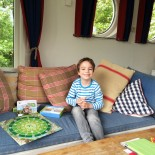 Paul´s Lieblingsplatz: Sofa mit Blick zum See